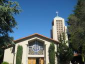 St. Joseph of Cupertino Church, Cupertino. Photo 1
